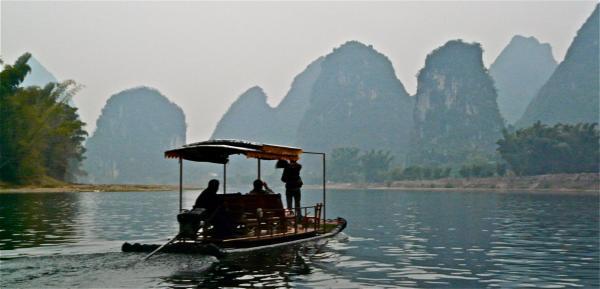 Bootsfahrt auf dem Li Fluss