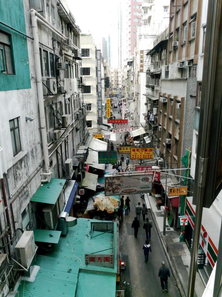Hong Kong - zu Fuß