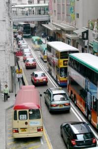 Hong Kong - Taxi & Bus