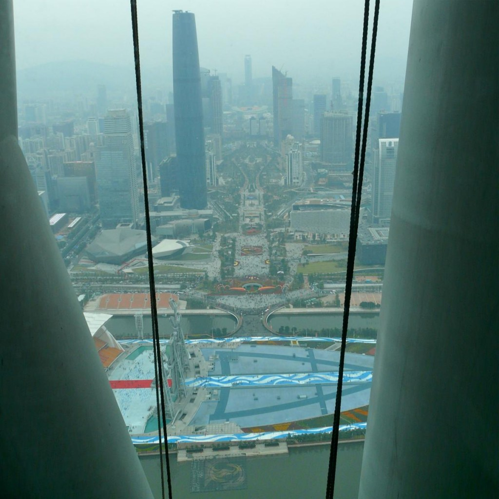 Canton Tower Aussicht