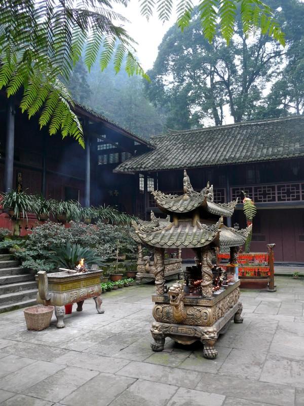 Emei Shan Tempel