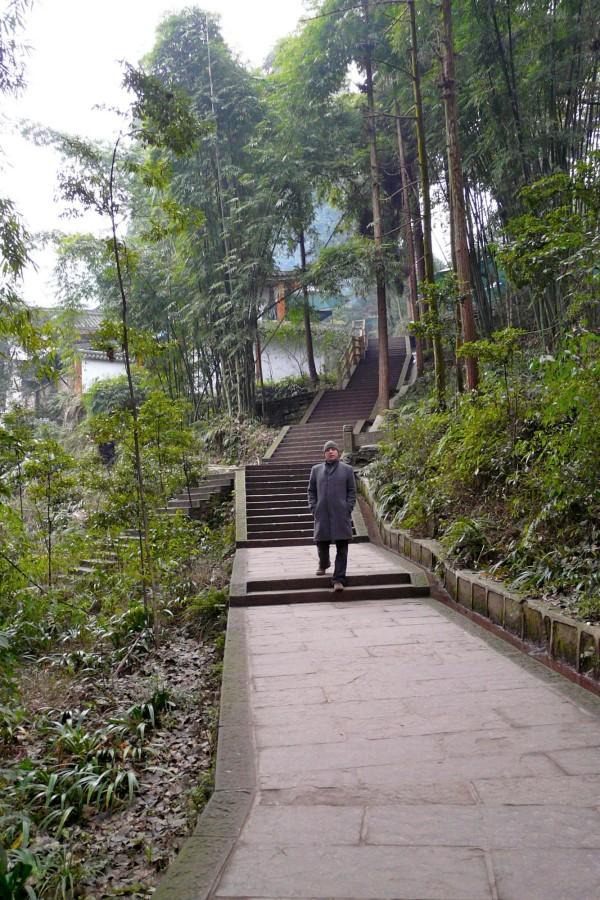 Emei Shan Wanderung