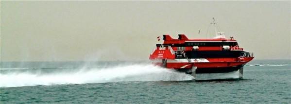 Schnellboot von Hong-Kong nach Macau