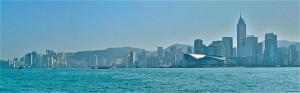 Hong Kong Skyline from Star Ferry