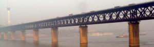 Brücke über den Jangtse in Wuhan