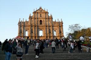 Macau Ruinas des Sao Paulo