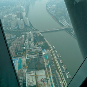 Pearl River vom Canton Tower