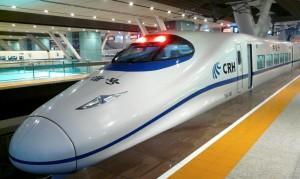 Schnellzug Guangzhou - Wuhan