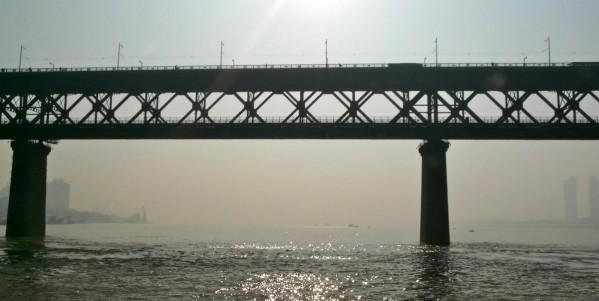 Jangtse Brücke in Wuhan