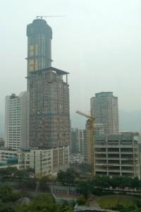 Chongqing Baustelle