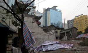 Arm und reich in Chongqing