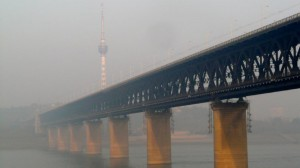 Brücke über Yangtse in Wuhan