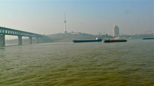 Jangtse in Wuhan