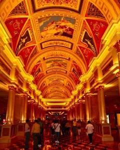 The Venetian Macau inside