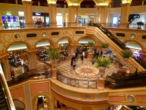 The Venetian Macau inside