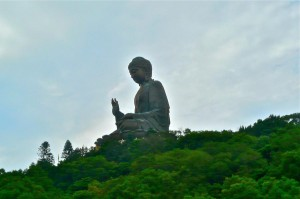Buddha auf der Insel Lantau
