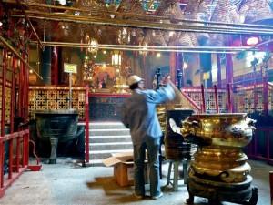 Im Man Mo Tempel Hong Kong