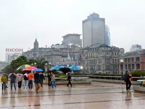 Promenade am Bund in Shanghai