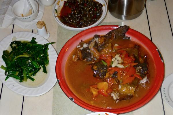 Bierfisch in Guilin