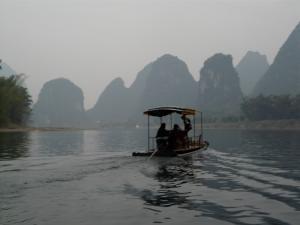 Auf dem Li Fluss
